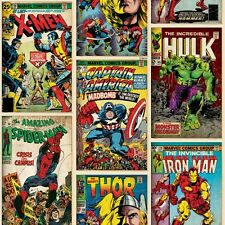 Marvel Superhero Comic Book Wallpaper - 10m Roll - Fun Wallpaper NEW!!!