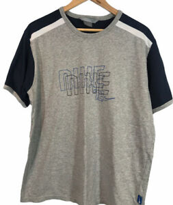 Nike Men's Embroidered T Shirt - Size Large