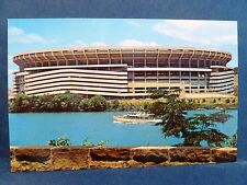 Postcard PA Pittsburgh Three Rivers Stadium Pirates Steelers Torn Down