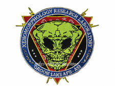 Black Ops Area 51 Space Alien Autopsy Xenomorphology Laboratory Research Patch