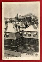 AK STUTTGART um 1910 AKademie und altes Schloss  ( 67325