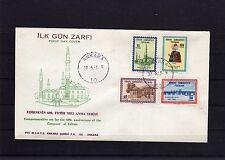 Türkei - FDC  1867 - 70 ( 1963 ) - KW  180 ,-- €  ( 25671 )