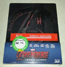 New Avengers Age of Ultron 3D+2D Blu-ray Steelbook™ FNAC France + Booklet