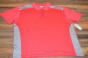 Geranium Stretch Dry Flow Easy Care GRAND SLAM Performance Golf Shirt Big & Tall