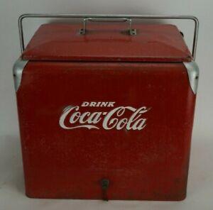 Vintage Progress Refrigerator Co. Coca-Cola Cooler