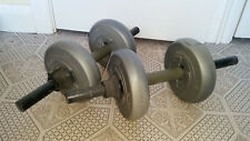 2x ORBATRON DUMBBELL FITNESS WEIGHTS 4KG PER ARM LIFTING SET