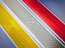 5m Reflektierende Folie für LKW-Plane selbstklebend rot Konturmarkierung