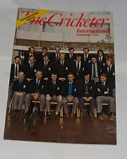 THE CRICKETER INTERNATIONAL DECEMBER 1974 - CHAMPIONS ISSUE
