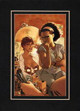 WONDER WOMAN 190 COVER PROFESSIONALLY MATTED PRINT Frame Ready DC Adam Hughes