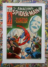 AMAZING SPIDER-MAN #80 - JAN 1970 - THE CHAMELEON! - VFN+ (8.5) CENTS COPY!