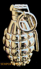 GRENADE LAPEL HAT PIN UP US ARMY MARINES NAVY AIR FORCE USCG PINEAPPLE MK2 WOW
