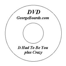 GeorgeBoards Lap Steel Guitar DVD It Had to be You lesson C6th tuning plus track