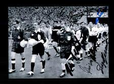 Deutschland Frankreich WM 1958 Foto 6x Original Signiert+A 150771