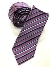 Paul Smith Cravate multi-rayures 6cm étroit Lame Fait en Italie très rare