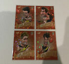 2016 AFL SELECT FOOTY STARS STARBURST RED 4 CARD RICHMOND TIGERS SET COTCHIN