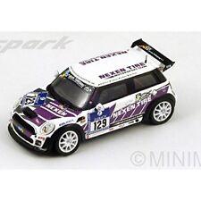 Mini Cooper Jcw #129 Le Mans Nurburgring 2013 R.Zensen Spark 1:43 SG097