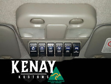 Switch Panel to replace Nissan Patrol GU Y61 Sunglass Holder Roof Console G Code