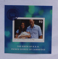 2013 St VINCENT & GRENADINES BIRTH PTINCE GEORGE STAMP MINI SHEET