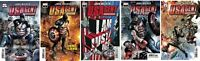 Marvel Captain America John Walker USAgent #1, 2, 3, 4, 5 Comic Priest Jeanty NM