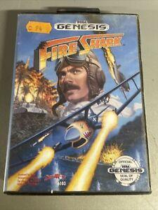 Sega Megadrive Genesis Fire Shark