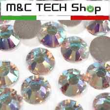 Strass termoadesivi SS20 Korean quality 5mm Cristallo AB hotfix 1000 pezzi
