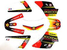 Kit deco moto cross pour Yamaha PW50 PW 50 piwi Rockstar Yellow Qualité Standard