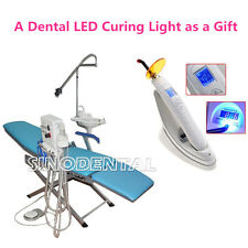 Dental LED Portable Turbine Folding Chair Luxury Type +LED Lamp Curing Light CA