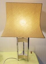 RARE BIG LAMP GAETANO SCIOLARI, SIGNED IN THE BASE, SEE PHOTOS No. 6 VINTAGE-N°2