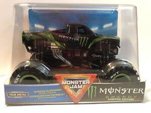 Monster Jam CUSTOM 1/24 MONSTER COTY SAUCIER TRUCK  Monster Truck 2021 CUSTOM