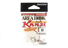 Decoy AH-5 Kunai Area Plugging Single Lure Hooks Size 8 (2822)