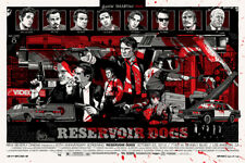 Tyler Stout RESERVOIR DOGS Variant - Limited Edition ScreenPrint Mondo Tarantino