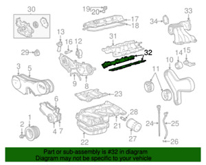 FACTORY LEXUS ES300 RX330 TOYOTA AVALON INTAKE MANIFOLD TO HEAD GASKET SET OEM