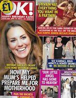 Kate Middleton Ok Magazine Samia Ghadie Mario Lopez Kimberly Wyatt Barks 2013