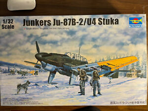 Trumpeter 03215 Junkers JU-87B/U4 STUKA 1/32 Scale