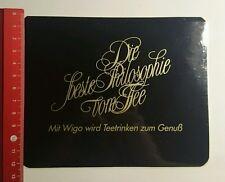 ADESIVI/Sticker: con Wigo viene teetrinken al piacere (010916121)
