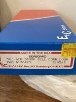 E C Shops Ho Seaboard 50' ACF Droop Sill Corrugated Door Box Car 2105