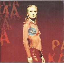 PATRICIA KAAS quand j'ai peur de tout CD PROMO avec calque JEAN JACQUES GOLDMAN