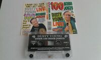 Comedy Cassette.  Dusty Young.  Irish   100 Jokes Live