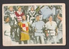 Ivanhoe Roger Moore 1958 TV Series Scarce Card Look! from Germany J
