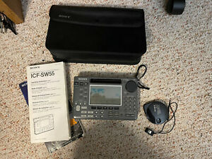 Sony ICF-SW55 World Band Receiver Shortwave Radio NON WORKING. FOR PARTS ONLY