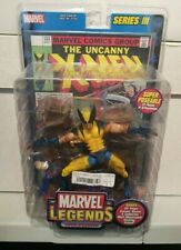 Marvel Legends Wolverine - 2002 Series 3 - comes with stand & X-MEN #133 replica
