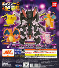 Bandai Pokemon MEWTWO Strike Back Evolution Movable Figure Collection Set 5pcs