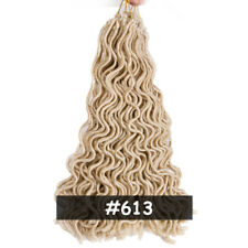 20'' Afro Goddess Faux Locs Curly Twist Crochet Braid Dreadlocks Synthetic Hair