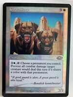 Guard Dogs Planeshift FOIL MP MTG IN HAND Magic The Gathering Same Day Handle