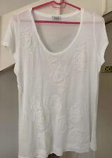 Steffen Schraut Flower Tee Shirt Size  44 *BARGAIN*