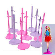 10pcs/lot Fashion Doll Stand Display Holder For Barbie Dolls/Monster High dolls