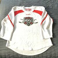 CCM Skills Camp Ice Hockey Jersey Size Men's Small. White Jersey. Excellent