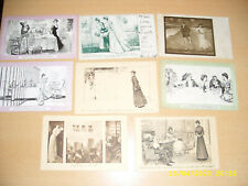 GIBSON GIRLS  - LARGE  VINTAGE COLLECTION OF   POSTCARDS
