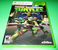 Teenage Mutant Ninja Turtles Microsoft Xbox 360  *Factory Sealed! *Free Ship!