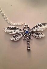 Dragonfly con piedras de Swarovski Elementos Vintage vendedor de Reino Unido